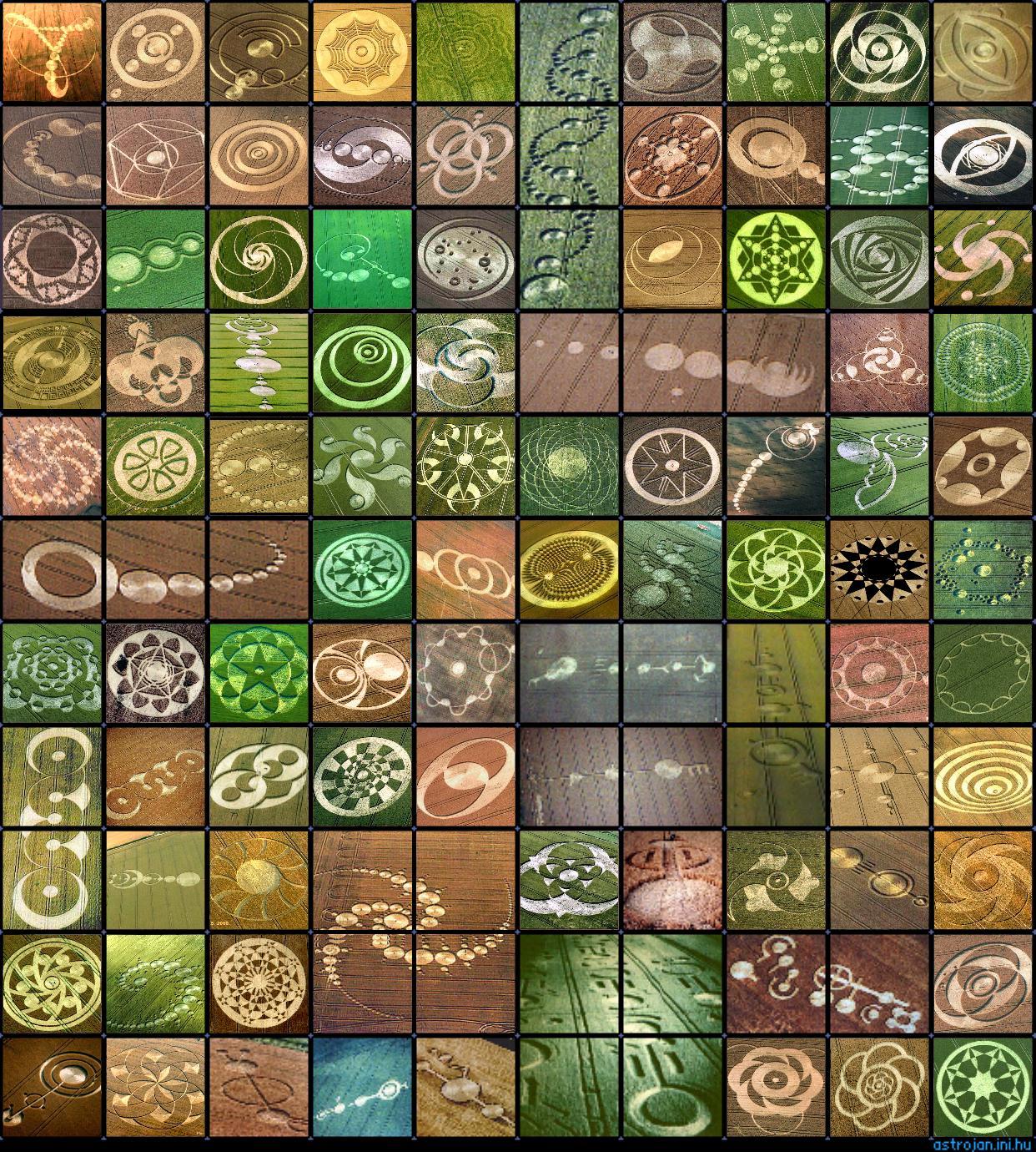 El fenómeno de los círculos en las cosechas también conocidos como Crop Circles, 12