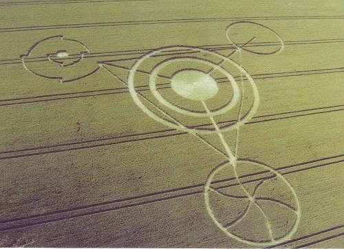 El fenómeno de los círculos en las cosechas también conocidos como Crop Circles, 7
